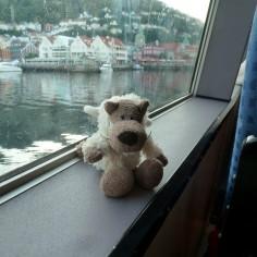 Dans le ferry pour Stavanger