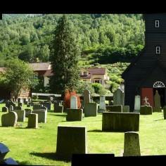 Cimetière de Flam, Norvège