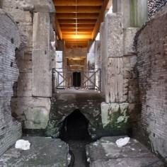 Sous-terrain du Colisée