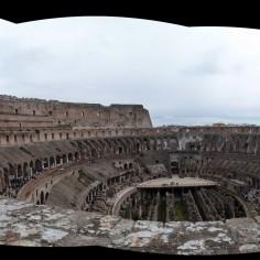 Pano intérieur Colisée