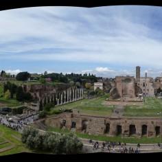 Pano du 3e étage du Colisée