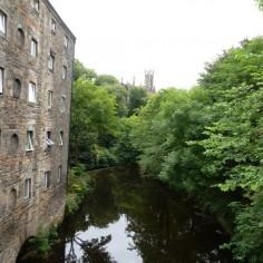 Balade dans le quartier des meuniers à Edinburgh