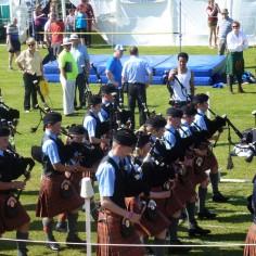 Ouverture des Highland Games de Tobermory (Île de Mull)