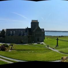Pano de la bute en face de l'abbaye d'Iona
