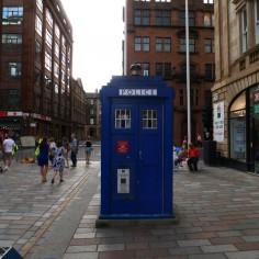 La seule et unique photo à Glasgow..