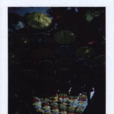 Parapluies de Saumur.. Bien trop sombre cette photo !