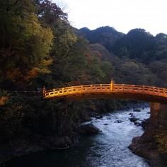 Pont Shinkyo (Pont sacré), à l'origine destiné uniquement  au Shogun et aux messagers de l'empereur