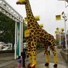 Une girafe en Légo !
