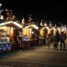 Le marché de Noël de la Skytree