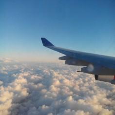 Au dessus des nuages, j'adore !