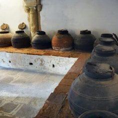 Couvent de Tomar (stock d'huile)