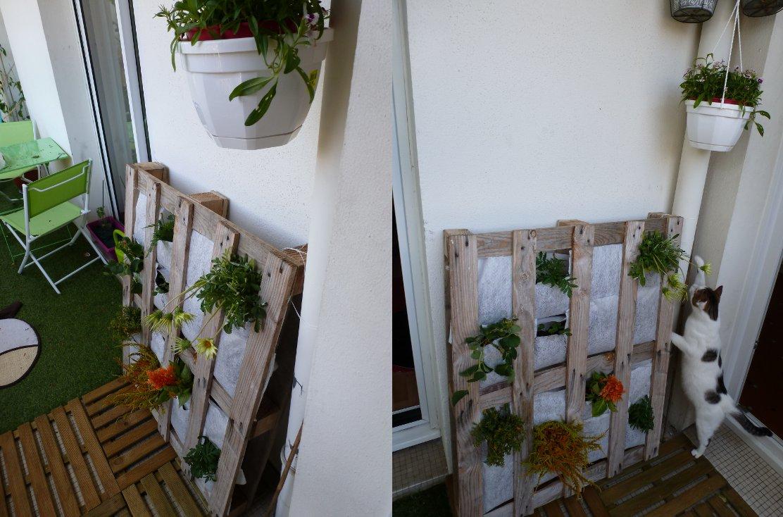 Palette v g tale - Mur vegetal palette ...
